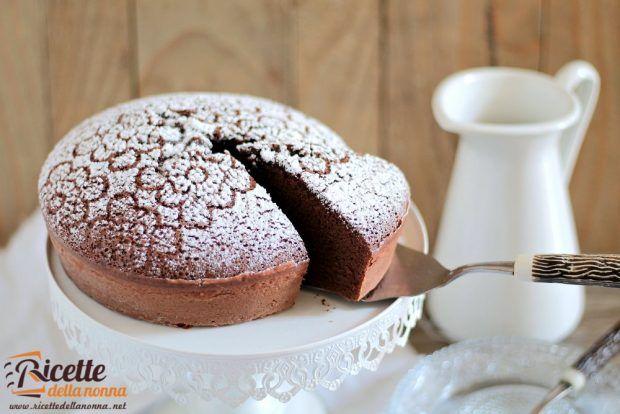 Ricetta torta al latte caldo e cacao