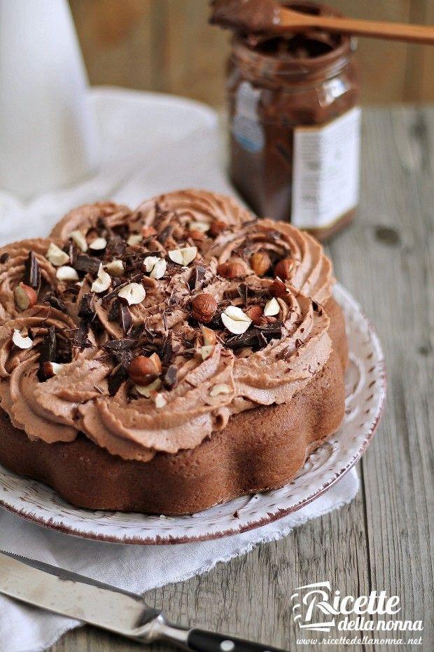foto torta al mascarpone e nutella