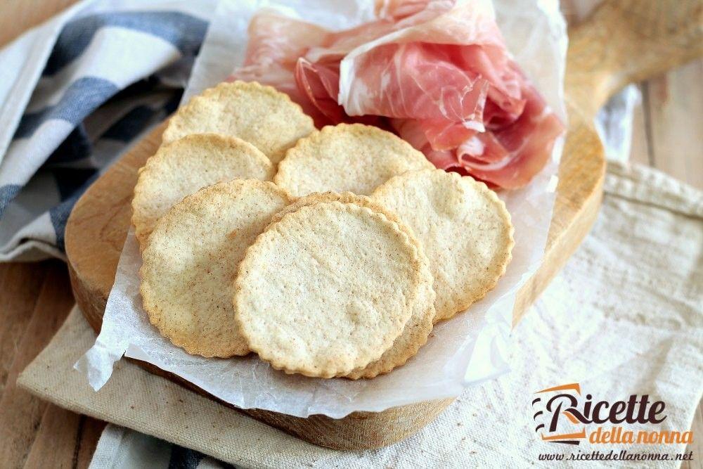Ricetta crackers leggeri e veloci