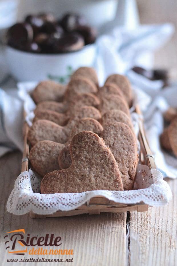 foto biscotti alla farina di castagne