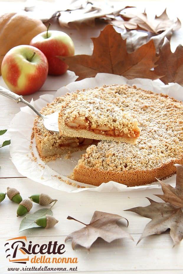 Sbriciolata zucca e mele ricetta e foto