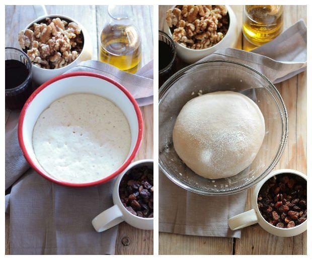 Preparazione pan coi santi 1