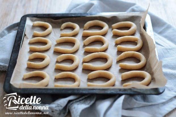 Preparazione vanillekpferl, biscottini tedeschi alla vaniglia 4