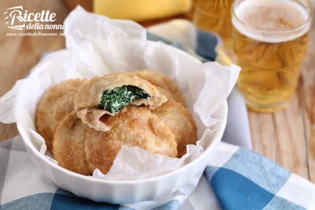 Ricetta tirtlen altoatesini alle patate e agli spinaci