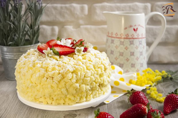 Torta mimosa foto e ricetta