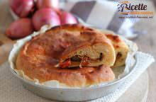 Calzone pugliese alle cipolle