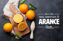 Come conservare le arance