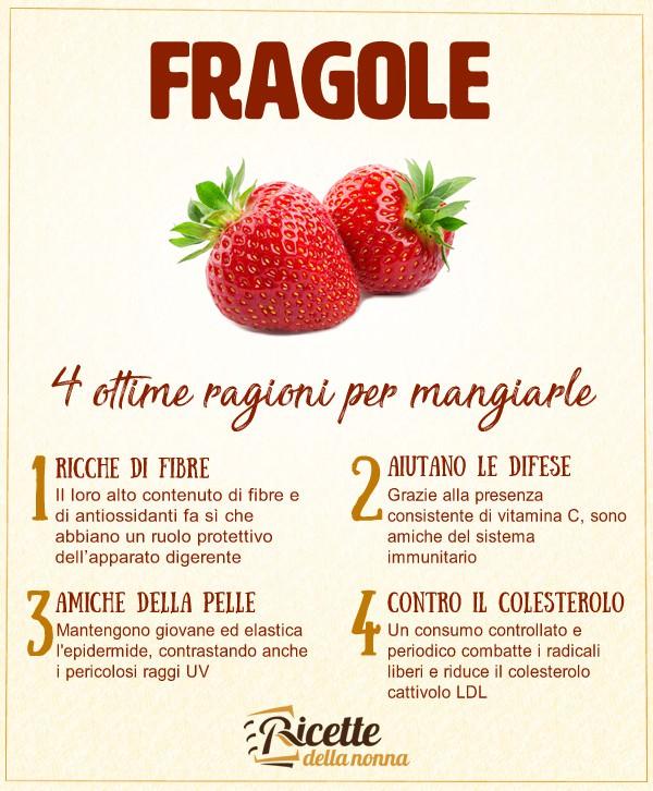 fragole: 4 ottime ragioni per mangiarle