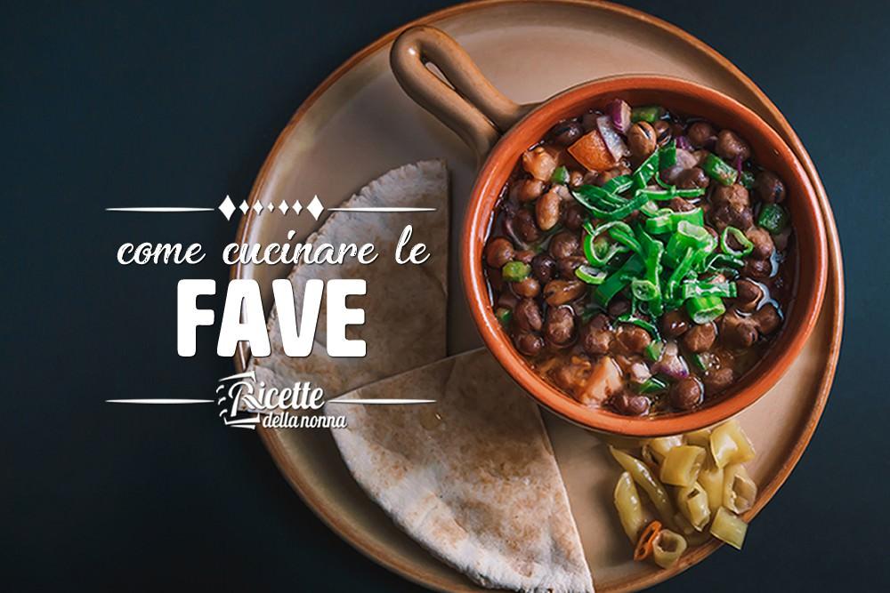 Come cucinare le fave ricette della nonna - Come cucinare le trote ...