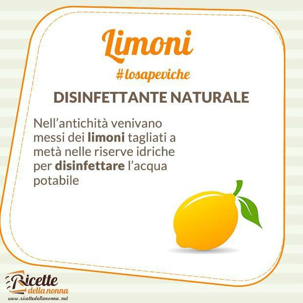lo sapevi che: limone