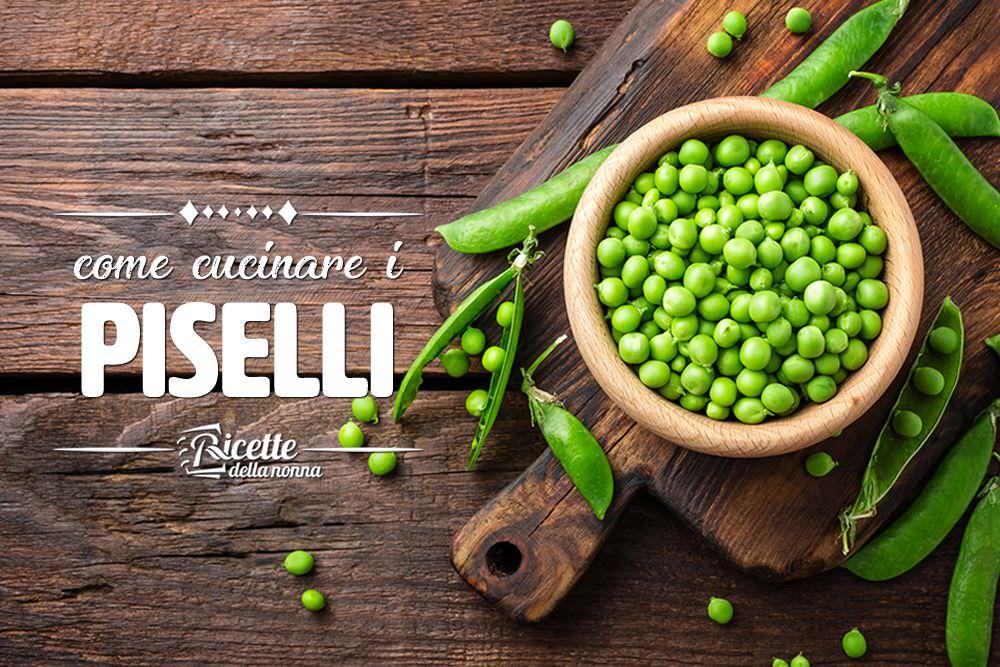 Come cucinare i piselli | Sale&Pepe