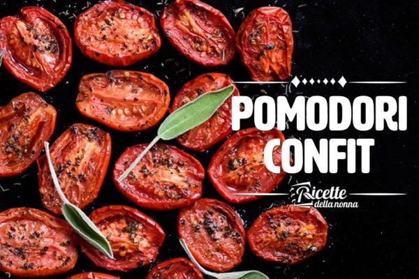 Pomodori confit: il contorno preferito dagli chef