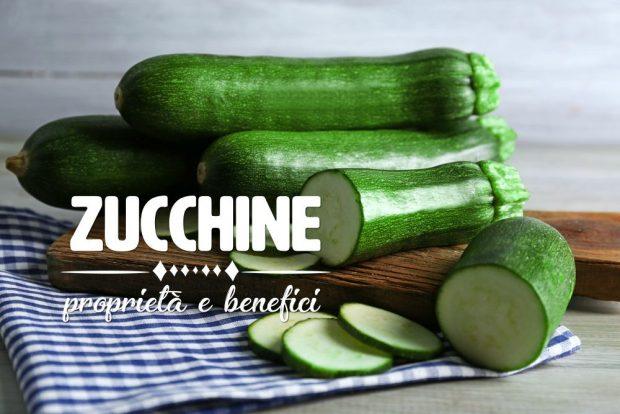 zucchine proprietà e benefici