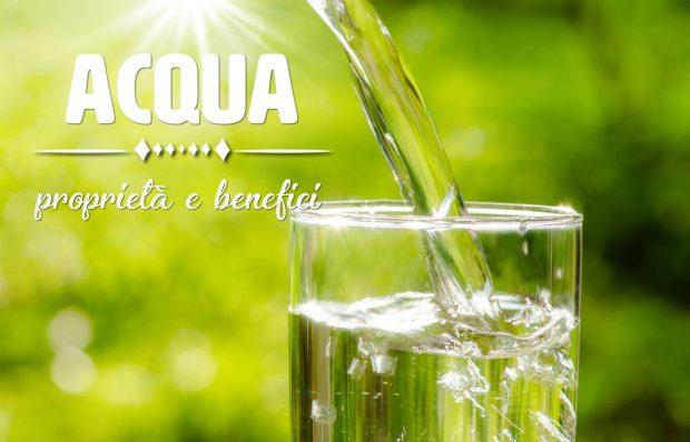 acqua proprietà e benefici