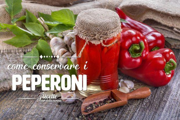 Come conservare i peperoni