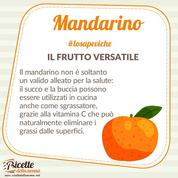 Mandarino curiosità