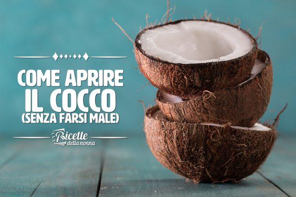 Come aprire un cocco