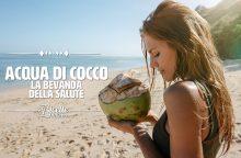 Acqua di cocco: la bevanda energetica preferita dagli sportivi