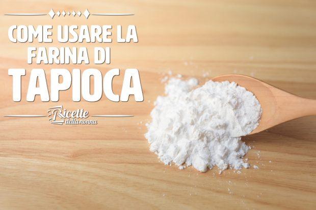 Farina di tapioca
