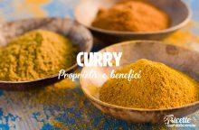 Curry: proprietà, benefici e controindicazioni