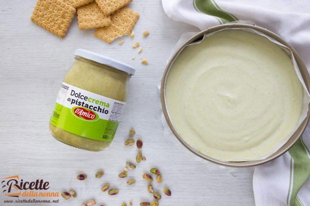Crema cheesecake alla crema dolce di Pistacchio D'Amico