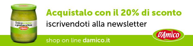 Dolcecrema di pistacchio D'Amico