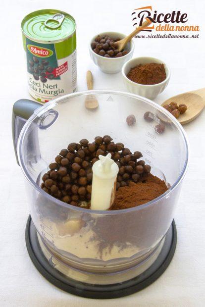 Hummus dolce al cacao D'Amico