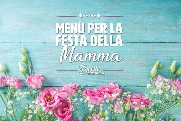 Menu festa della Mamma