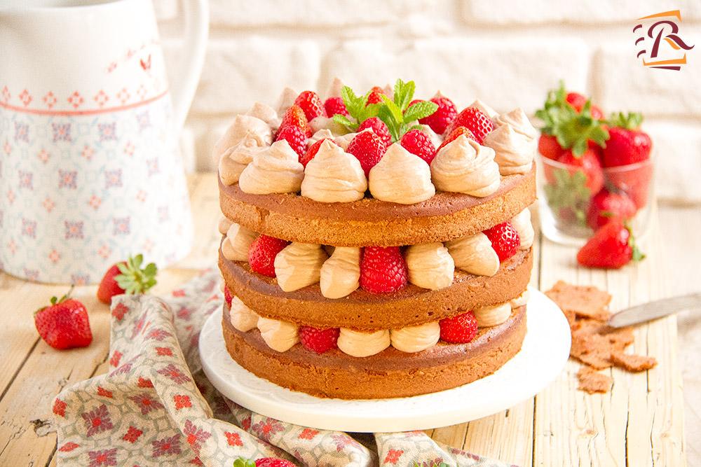 NAKED CAKE ALLA FRUTTA E MASCARPONE - Ketty cucino oggi?